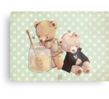 honey bees and holmes bears Metal Print