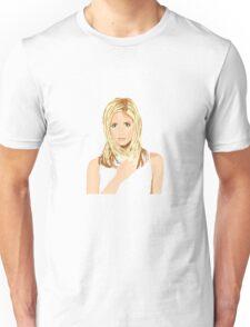 Sarah Michelle Gellar vector Unisex T-Shirt