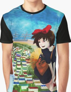 Kiki Delivery Service Graphic T-Shirt