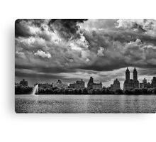 Storm Clouds Over Central Park Canvas Print