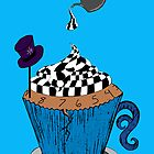Alice In Wonderland Cupcake by AnatomyOfDecay