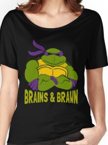 Brains & Brawn Women's Relaxed Fit T-Shirt