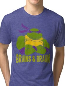Brains & Brawn Tri-blend T-Shirt