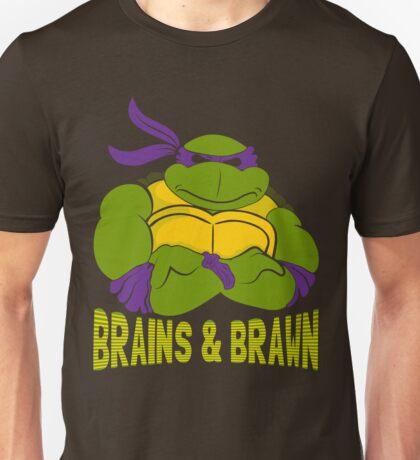 Brains & Brawn Unisex T-Shirt