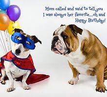 Birthday among siblings by Mibellamore