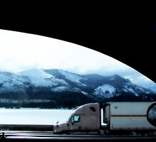 Sharing The Road...A passenger's view through the window by trueblvr