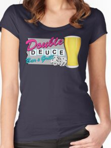 The Roadhouse! (Pink) Women's Fitted Scoop T-Shirt