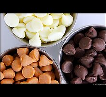 Nestle Premier White, Butter-Scotch And Milk Chocolate Morsels by © Sophie W. Smith