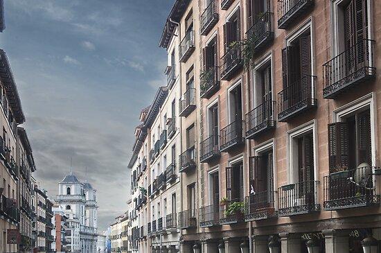 Calle Toledo, Madrid by Mark Higgins