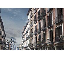 Calle Toledo, Madrid Photographic Print