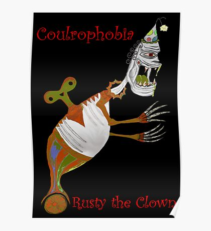 Rusty The Clown Poster