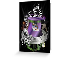 Steam Hatter Greeting Card