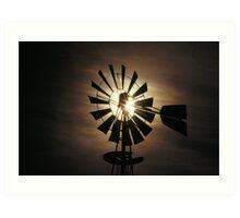 Wind Mill  h  Art Print