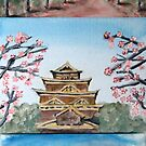 Temples - Japan by Glenn Browning