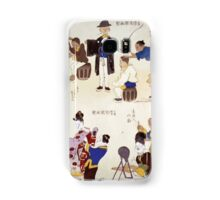 Humorous pictures showing various Chinese clothing and grooming habits 001 Samsung Galaxy Case/Skin