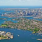 Sydney Panorama from the Air by TonyCrehan