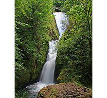 Bridal Veil Falls, Oregon Photographic Print