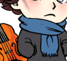 Cute Sherlock Sticker