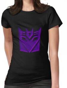 Decepticon Symbol Womens Fitted T-Shirt