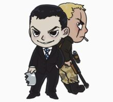 Cute Moriarty and Moran by reapersun