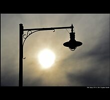 Cedar Town Beach Vintage Lamp Under The Evening Sun - Mt. Sinai, New York  by © Sophie W. Smith