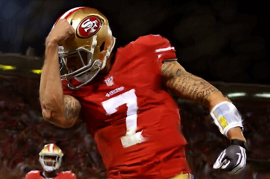 San Francisco 49er Colin Kaepernick by art-hammer