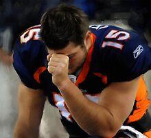 Denver Broncos Tim Tebow by art-hammer