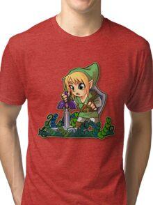 Chibi Link Tri-blend T-Shirt