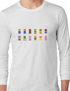 Minimalist Smash Bros. Long Sleeve T-Shirt