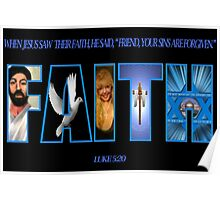 ✾◕‿◕✾ FAITH BIBLICAL TEXT ✾◕‿◕✾ Poster