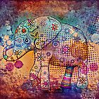 indie elephant by © Cassidy (Karin) Taylor