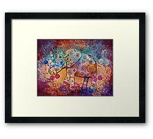 indie elephant Framed Print