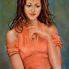 portrait of Cristina by Hidemi Tada
