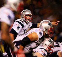 Patriots Quarterback Tom Brady by art-hammer