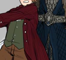 Bilbo the Brave Sticker