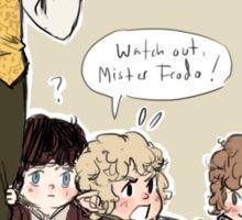Wee Little Hobbitses Sticker
