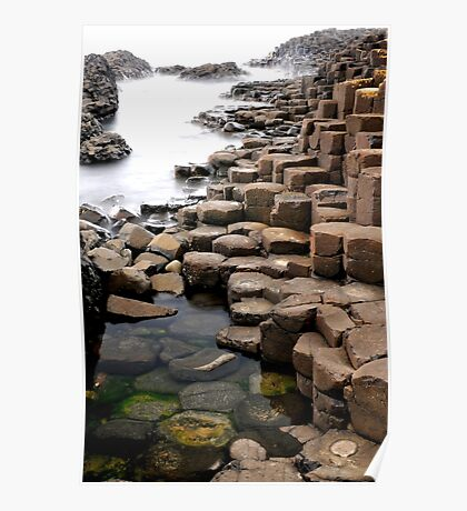 """""""Giant's Causeway"""" Poster"""