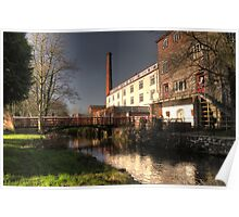 Colharbour Mill Poster