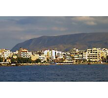 Chania, Crete, Greece Photographic Print