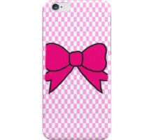 Ribbon - Pink iPhone Case/Skin