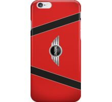 Mini Cooper Strips - Chili Red iPhone Case/Skin