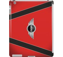 Mini Cooper Strips - Chili Red iPad Case/Skin