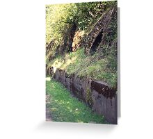 Beehive Coke Ovens Greeting Card