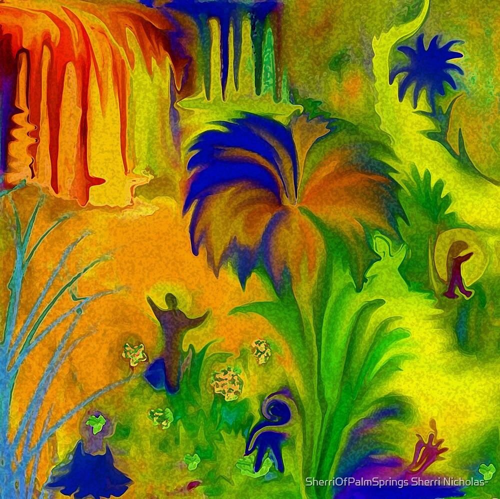 THE LAND OF LITTLE PEEPS..... by Sherri Palm Springs  Nicholas