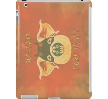 GOT-HAM-022 iPad Case/Skin