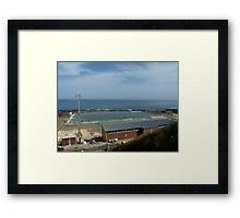 Merewether  Baths Newcastle Australia  Framed Print