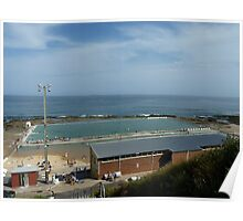 Merewether  Baths Newcastle Australia  Poster