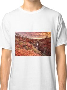 Sunrise over Joffre gorge Classic T-Shirt