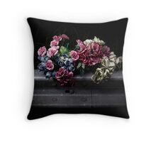 Roadside memorials #2 Throw Pillow
