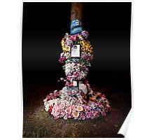 Roadside memorials #3 Poster